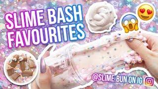 SLIME BASH FAVOURITES // slime.bun