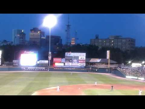 Trains At Frontier Field Home Of Rochester Red Wings