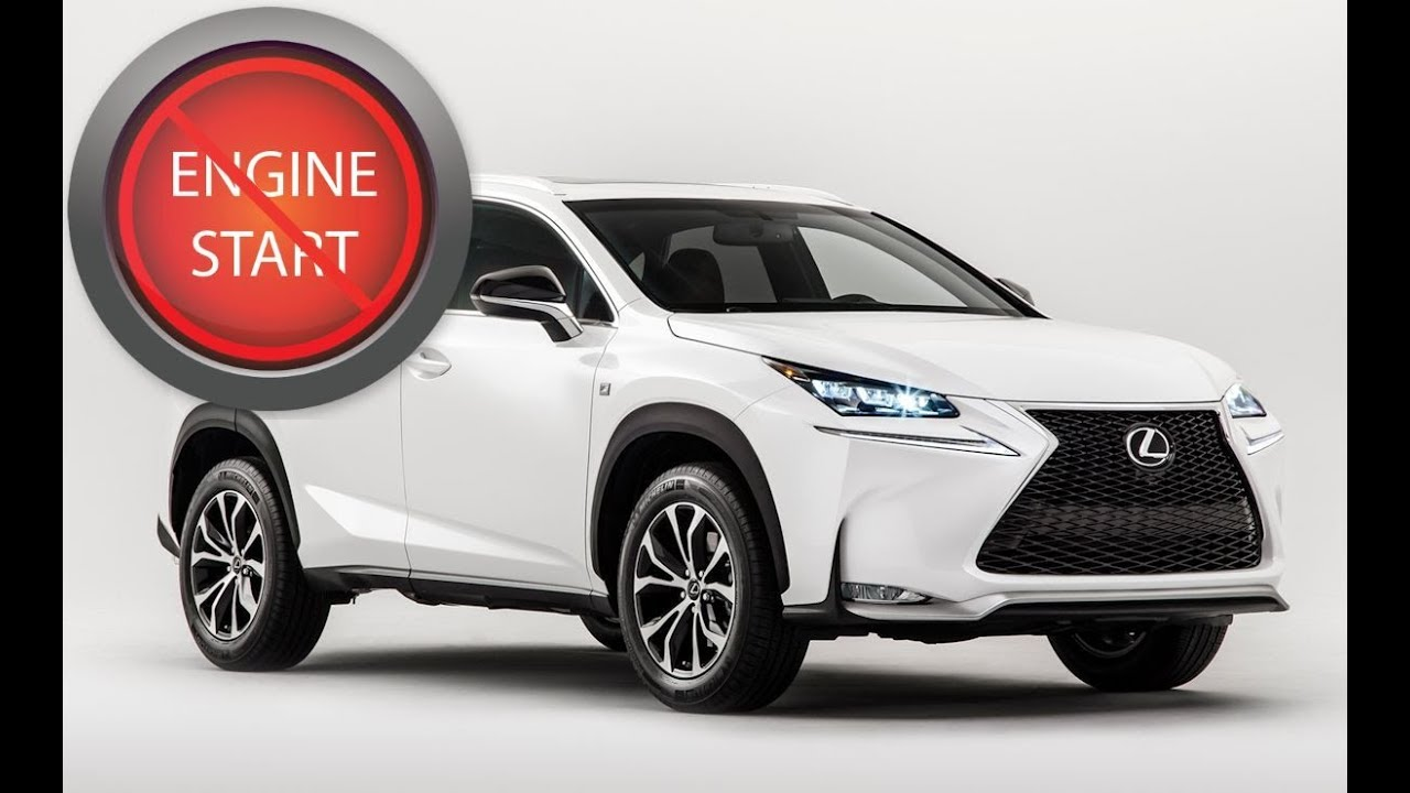 Lexus NX, RC and newer RX: Opening and starting these models with a dead  key fob battery