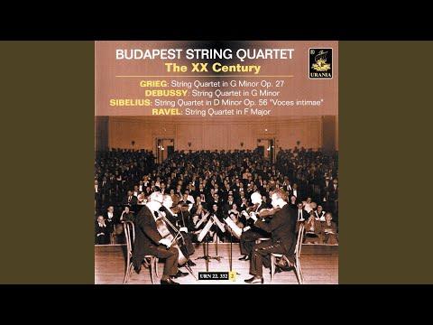 String Quartet In G Minor: I. Animé Et Très Décidé