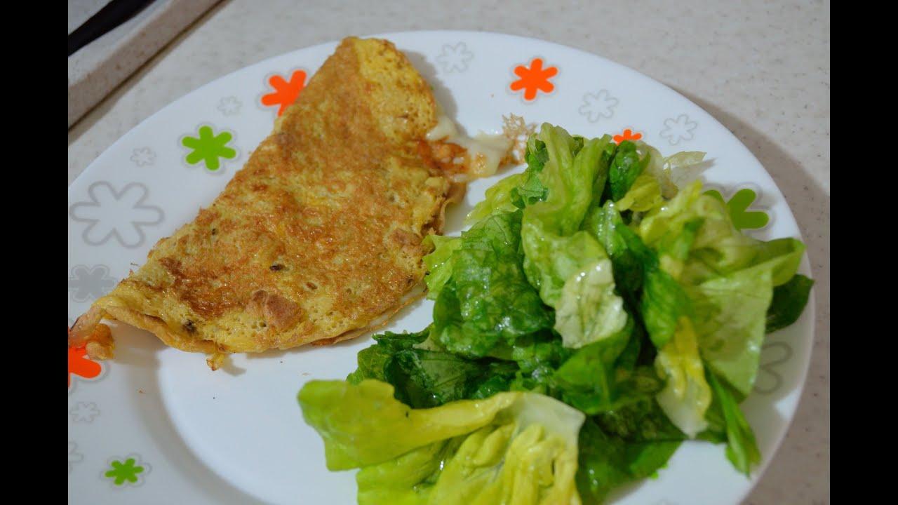 ricetta dietetica in 5 minuti: omelette (dieta dukan) - youtube - Cucina Dietetica Ricette