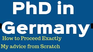 PhD in Germany with Daad Scholarship