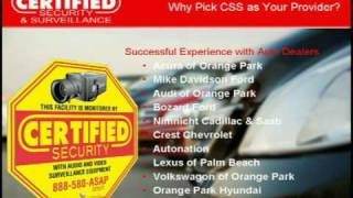 Certified Security & Surveillance - Florida Home Security Company