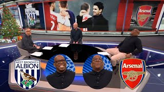MOTD West Brom vs Arsenal 0-4 Ian Wright Praises Arsenal's Performance Fantastic
