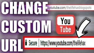How To Change Youtube Custom Url Again If You Got Already / Change Url Twice time 2017
