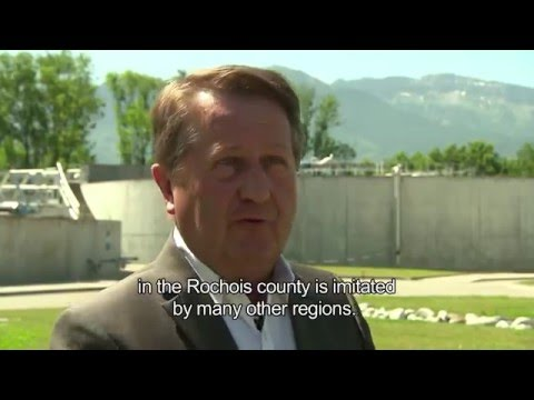 Biomethane production in wastewater treatment plant (French Alps) - SUEZ