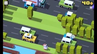 Como desbloquear o personagem secreto Baleia Esperta do jogo crossy road