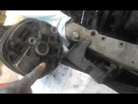 how to remove an alternator from a 1996 Cadillac d Alterntor Cadillac Deville Wiring Diagram on