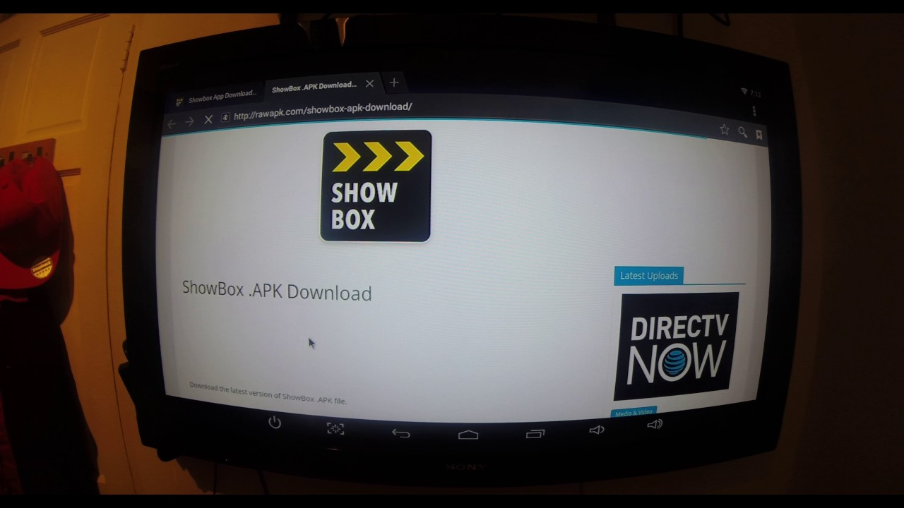 how to use showbox on android tv