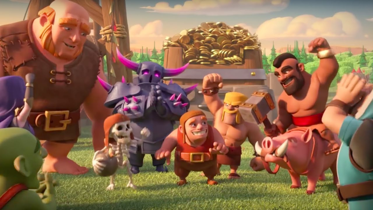 Clash of Clans Official 2017 Year in Review Trailer - YouTube
