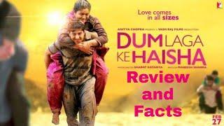 Dum laga ke haisha | full movie | HD 720p |ayushmann k, bhumi p| #dum_laga_ke_haisha review and fact