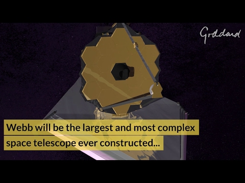 The James Webb Space Telescope @ NASA Goddard