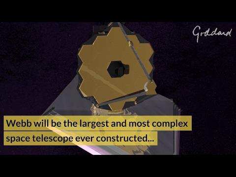 The James Webb Space Telescope @ NASA Goddard