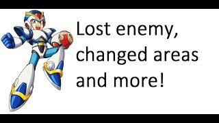 Mega Man X | Japanese trailer! Lost enemy (Jellyfish), changed areas, changed life symbol and more!