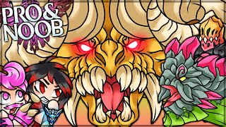 THE MONSTER IN THE PIT - Pro and Noob VS Monster Hunter Stories 2 Wings of Ruin!
