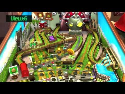 Zen Pinball 2 Plant vs zombies super legal. Gameplay.  