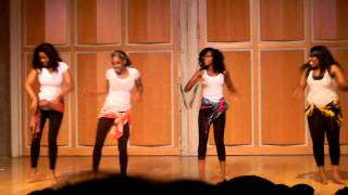 UC Merced African Culture Night Girls Dance
