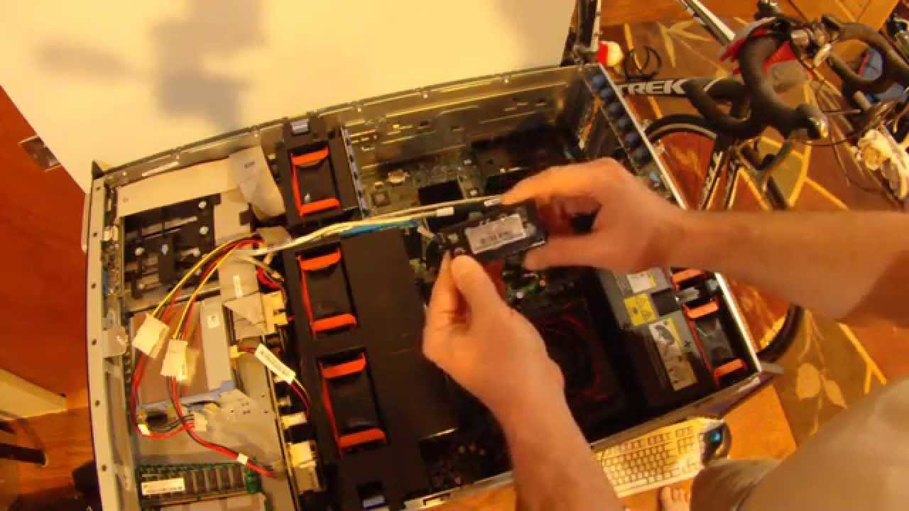 DELL PE 2900 PERC 6i and PERC 5i Battery Replacement Explanation