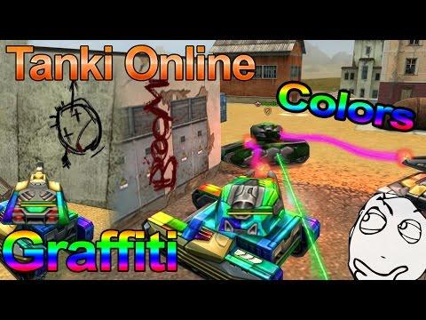 Tanki Online | Graffitis | Railgun + Isida Changing Colors
