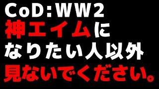 【CoD:WW2:講座】初心者でも神エイムになれる方法?! 論理的に学ぶ、CoD:WW2上達講座【ゆっくり実況】 thumbnail