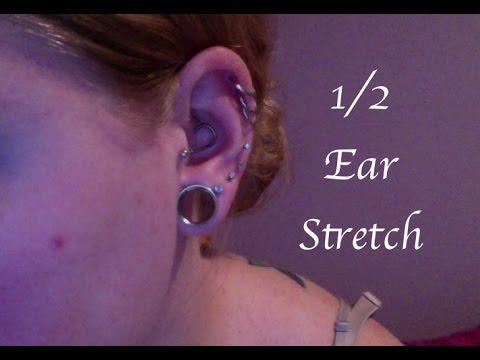 7/16 to 1/2 Ear Stretch!!!