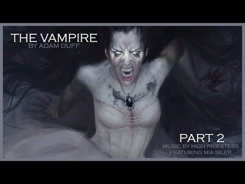 The Vampire Part 2 - Fantasy Painting by Adam Duff