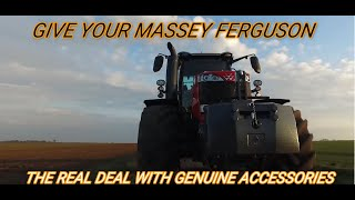 Give Your Massey Ferguson The Real Deal With Genuine Accessories