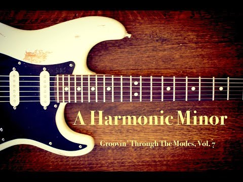 A Harmonic Minor Jam Backing Track (+TAB)