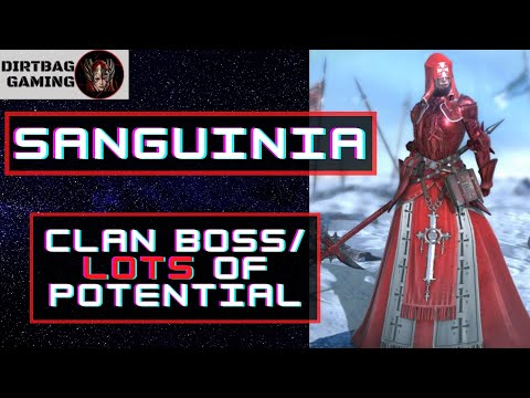 Sanguinia | FULL Guide W/ Clan Boss Build | She Can Do Alot For Any Account | Raid Shadow Legends