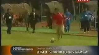 Aksi Penyusupan Hendri Mulyadi thd Indonesia-Oman. PSSI menuju Final Piala Asia 2011