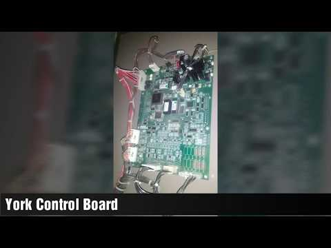 York Chiller Control Board