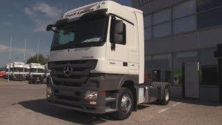 2018 Mercedes-Benz Actros 1844 LS 4X2 Truck Leader. Обзор (интерьер, экстерьер, двигатель).