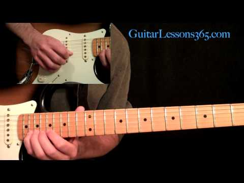 Mr. Crowley Guitar Lesson Pt.2 - Ozzy Osbourne - Main Guitar Solo - Randy Rhoads