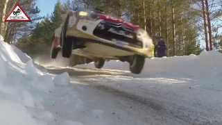 Full Attack Day 2 WRC Rally Sweden 2015 [Passats de canto]