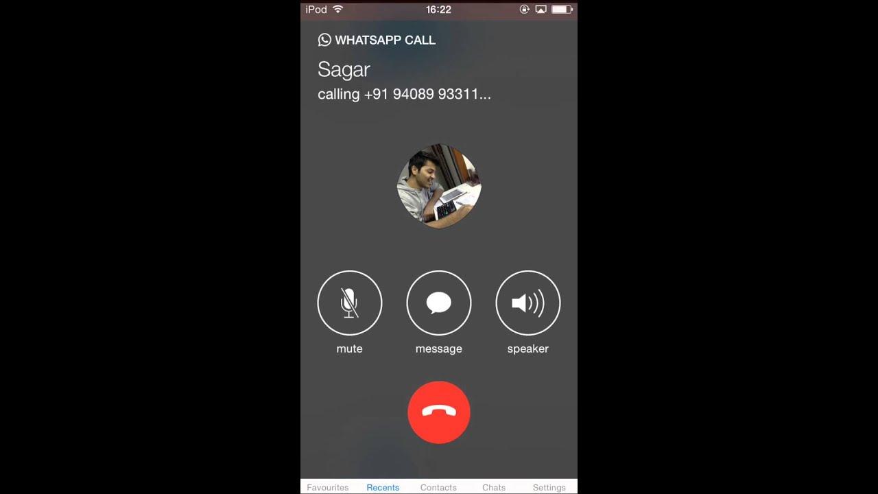 Whatsapp Free Call Iphone