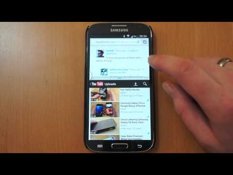 Samsung Galaxy S4 Multi-Tasking Demo - Split Screen / Multi Window