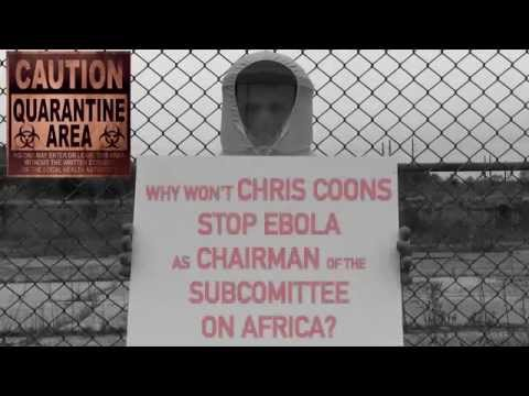 CHRIS COONS EBOLA ZONE