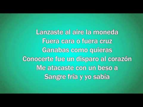 Ricky Martin - Disparo al Corazón (Letra)