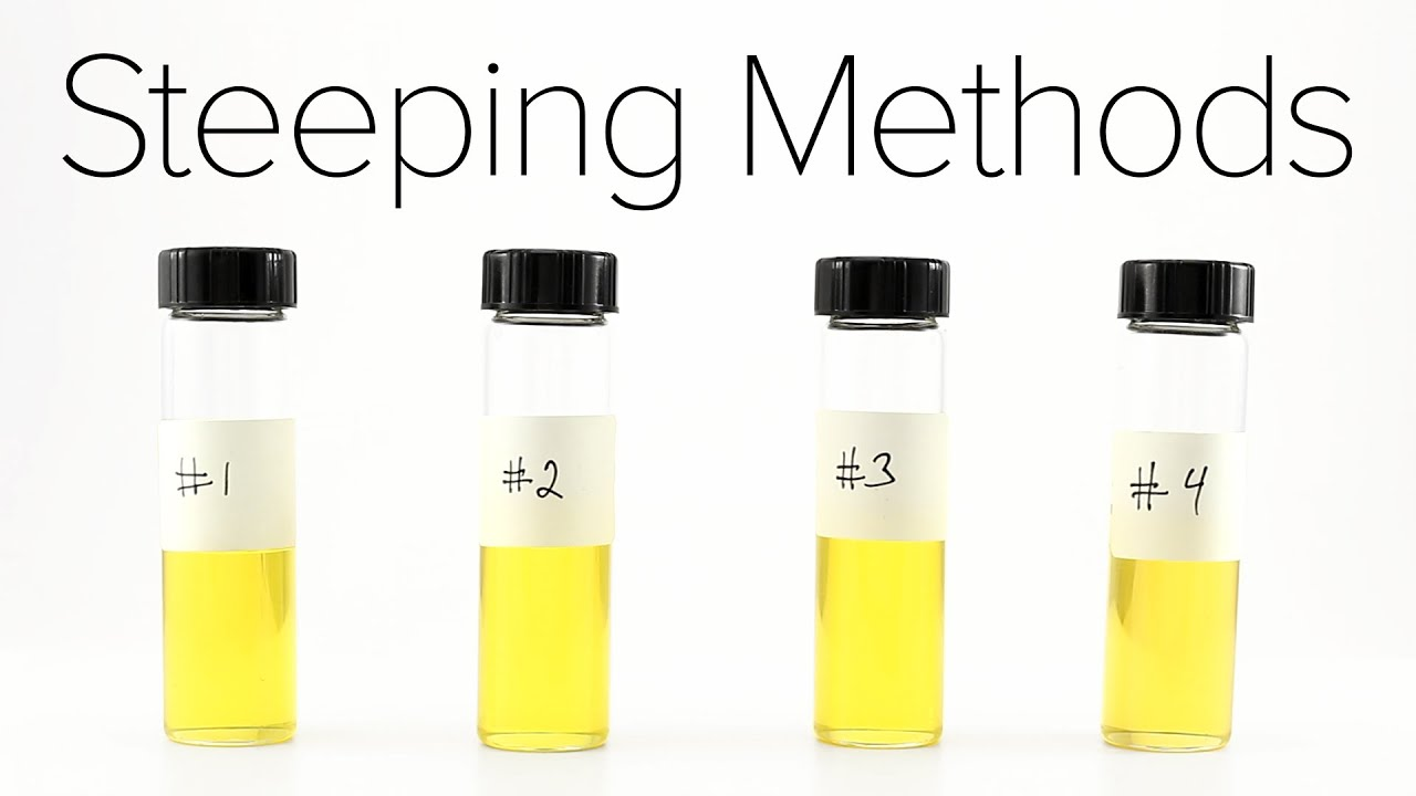 Steeping Methods For Your E-Liquid