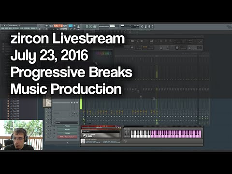 zircon Production Livestream - July 23, 2016 - Progressive breaks