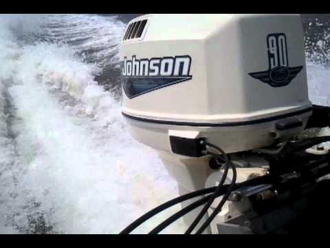 Johnson 90hp outboard idle to wot - Most Popular Videos