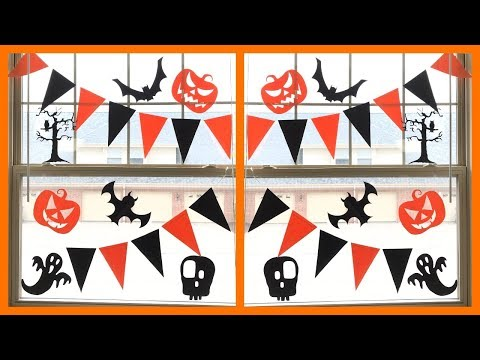 easy halloween decoration at home / DIY halloween decoration - Party Decorations.