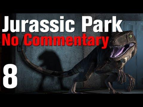 Jurassic Park The Game Walkthrough Episode 1 - The Intruder - Part 8