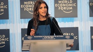 Queen Rania addressing the employment challenge - WEF