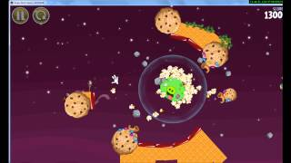 SkylanderDude VS  the big green fat pig  angry birds space