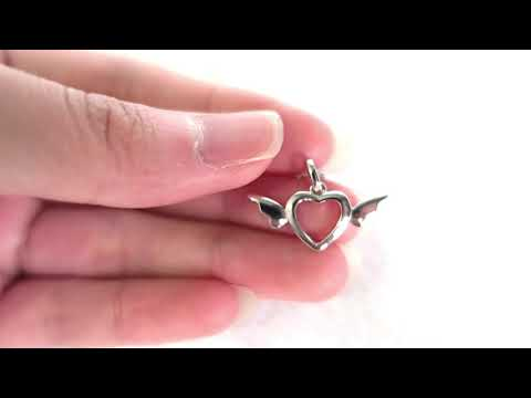 angel wing necklace video 1