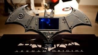 Batman Arkham Origins Press Kit Unboxing