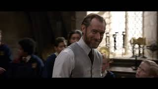 Animales Fantásticos: Los Crímenes de Grindelwald - Hogwarts Eddie Redmayne y Jude Law
