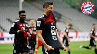 """I can't believe what I just did!"" - Robert Lewandowski's 40-goal record day 
