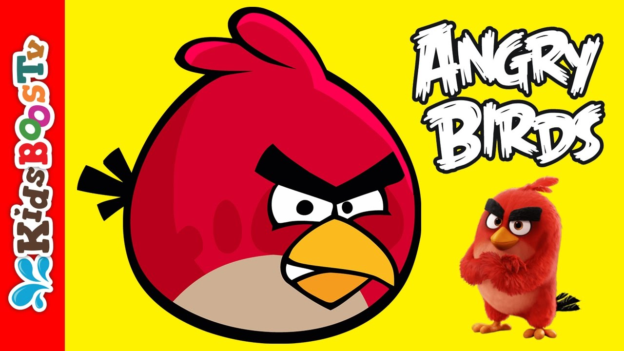 angry birds coloring pages angry red bird educational coloring fun